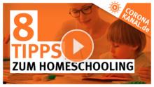 Coronakanal.de 8 Tipps zum Homeschooling