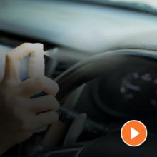 Hygiene im Auto