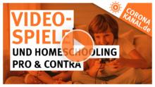 Videospiele und Homeschooling Pro Contra