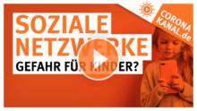 Coronakanal.de Soziale Netzwerke Gefahr für Kinder
