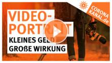 Coronakanal.de Videoportrait kleines Geld große Wirkung